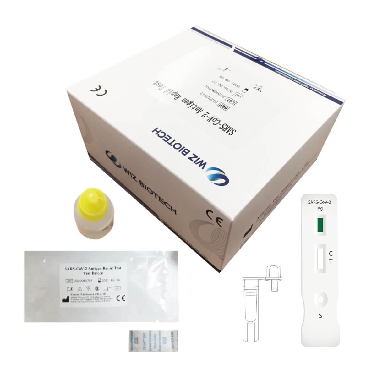 test antigenico covid 19 kit wiz biotech