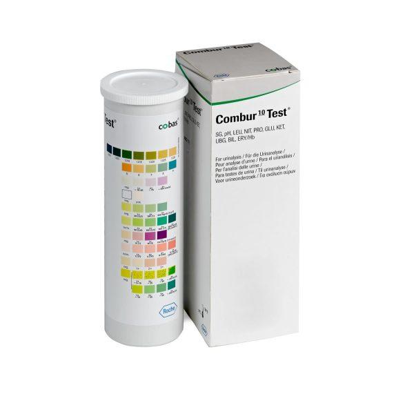 Combur Test 10 M strisce reattive analisi urine