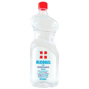 Alcogel gel igienizzante mani 1 Litro Pet