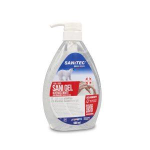 gel mani igienizzante Alcolico SANITEC Sani Gel
