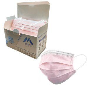 Mascherine chirurgiche rosa made in Italy Medea