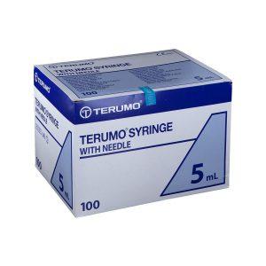 TERUMO SINGHE MONOUSO STERILI 5ML